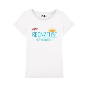 T-shirt femme - Bronzeuse Professionnelle