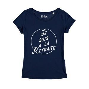 T-shirt - Je suis à la retraite