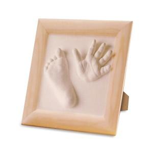 Kit Moulage empreintes de bébé en 3D avec cadre