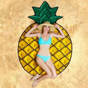 Serviette de plage géante Ananas