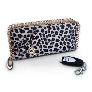 Portefeuille léopard caméra espion HD télécommandé
