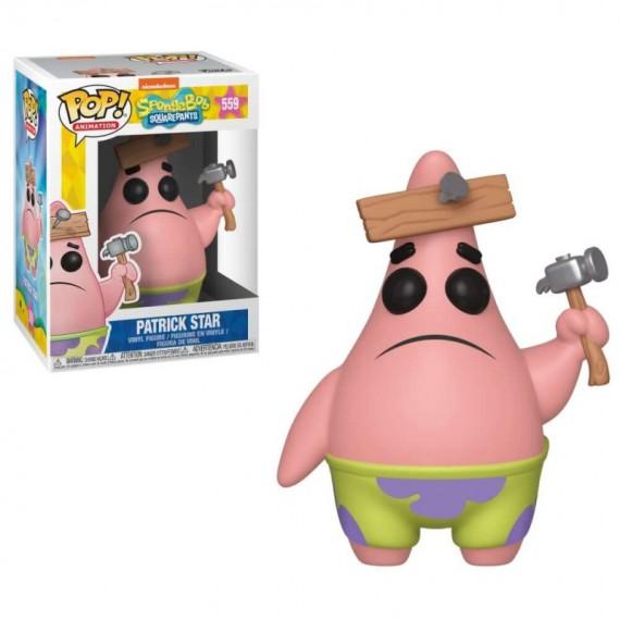 Figurine Bob l'Eponge - Patrick à encore fait une bêtise Pop 10cm