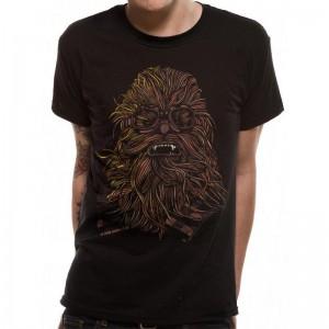 T-Shirt Star Wars Chewbacca - Chewie Tatooine