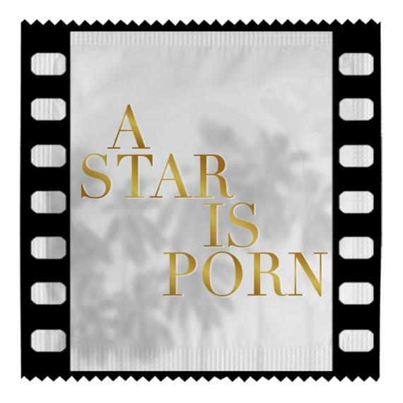 Préservatif - A star is Porn