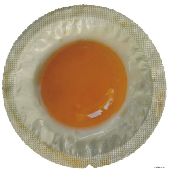 Préservatif - Oeuf au plat