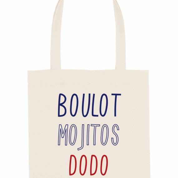 Tote Bag Boulot Mojitos Dodo