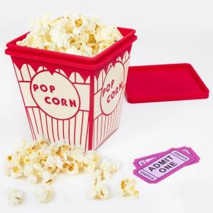Boîte à popcorn rétro