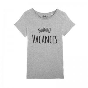 T-shirt femme - Monsieur/Madame Vacances