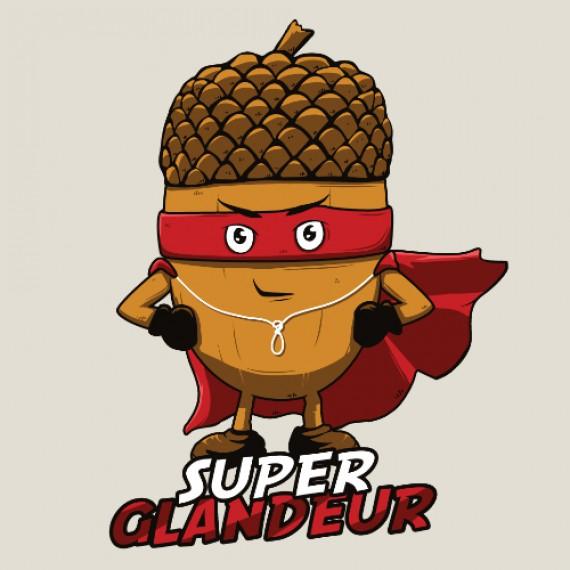 T-shirt - Super glandeur