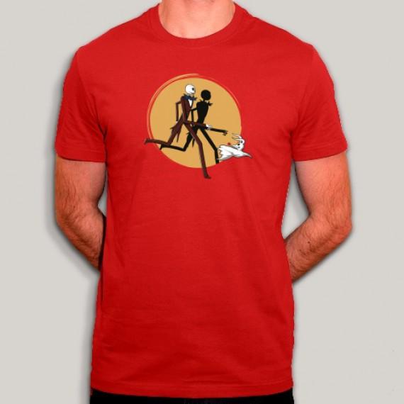 T-shirt - Jack Skellington & Zero