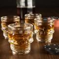 Les verres shooter tete de mort