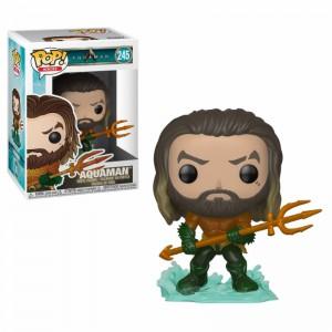 Figurine DC Comics Aquaman - Aquaman Pop 10cm