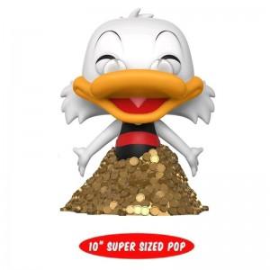 Disney - Scrooge/Picsou McDuck on Gold coins - Pop 10 inch Exclu