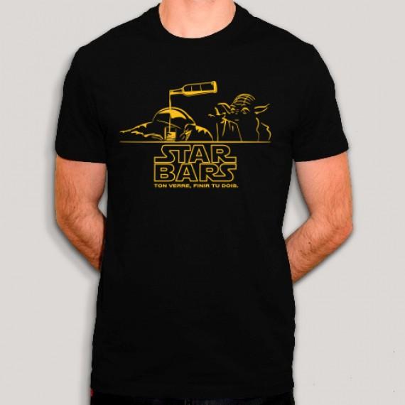 T-shirt Star Wars au bar