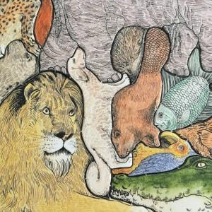 Puzzle des animaux en désordre