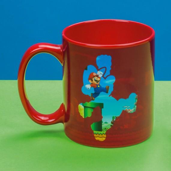 Mug Nintendo Super Mario Gold Coin Rush Chaud / Froid