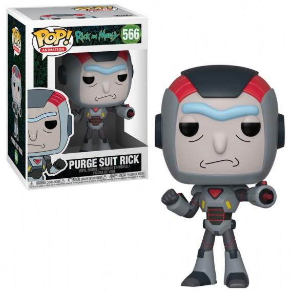 Figurine Pop! Rick & Morty - Purge Suit