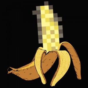 T-shirt - Banane NSFW