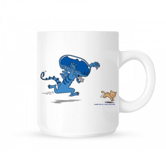 Mug Alien & chat mignon