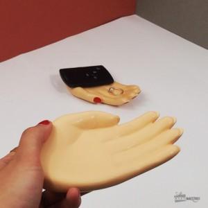 Les vide-poche mains