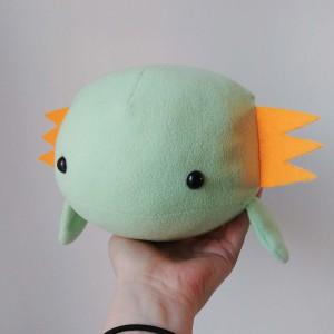 Axolotl en peluche à adopter