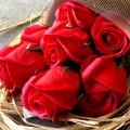 Coffret cadeau Bouquet de roses savon