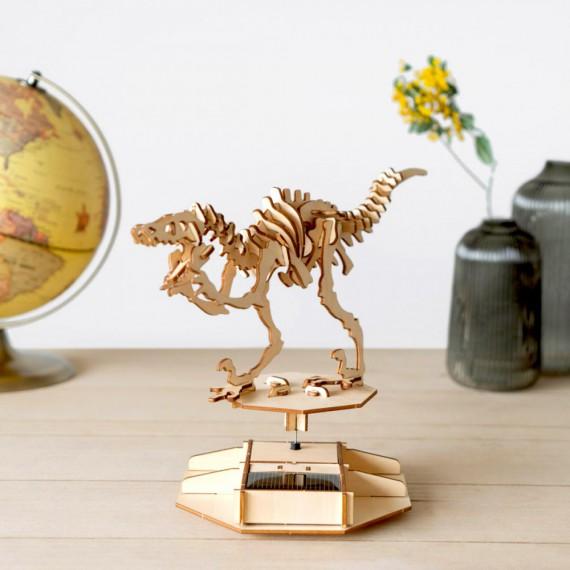Maquette dinosaure solaire 3D