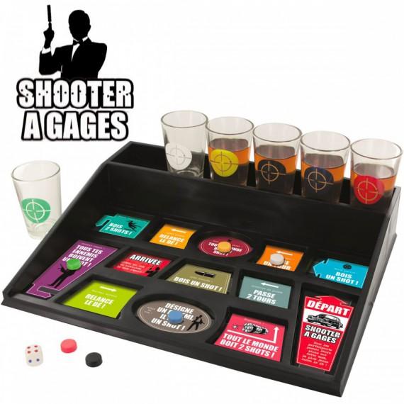 Jeu à boire shooter à gages