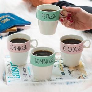 Mugs pour vilaines filles avec support