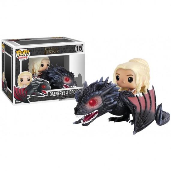 Pack 2 Figurines Pop! Game of Thrones Daenerys et Drogon