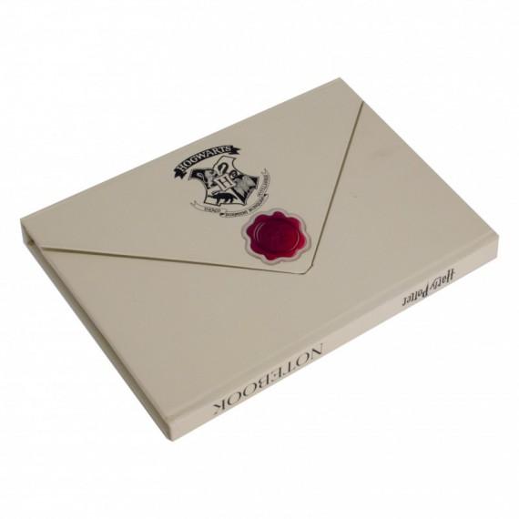 Carnet de notes Harry Potter - Lettre de Poudlard