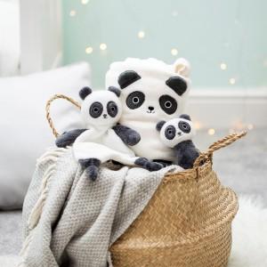 Couverture polaire panda pour bébé