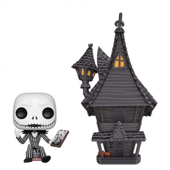 Figurine Jack Skellington et sa maison - Nightmare Before Christmas - Pop 10cm