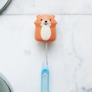 Porte brosse à dent renard