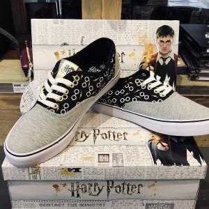 Baskets en toile Harry Potter - Lunettes et éclair
