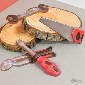 Coffret 4 outils en chocolat