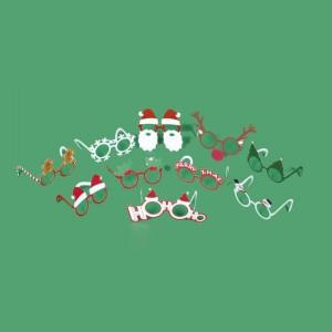 Lunettes Déguisement pour Noël (x10)
