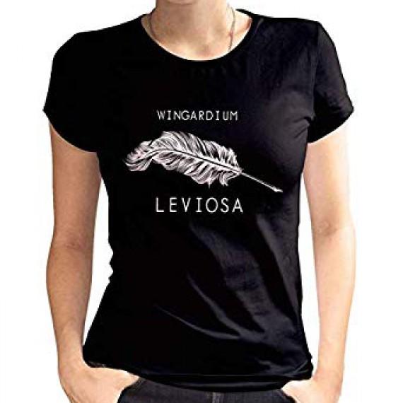 "T-Shirt Harry Potter femme ""Wingardium Leviosa"""
