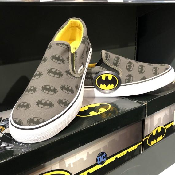 Baskets en toile Batman