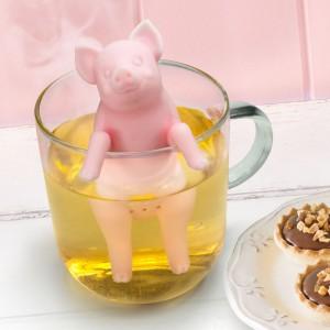 Infuseur à thé petit cochon