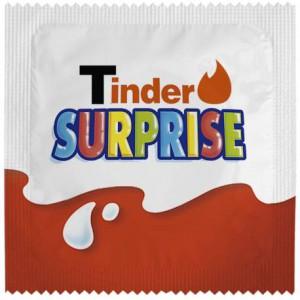 Préservatif Tinder Suprise