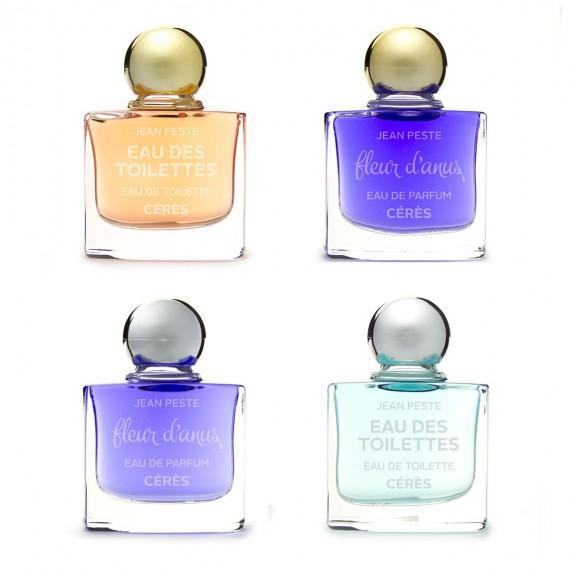 Miniatures de parfums Jean Peste