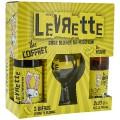 Coffret levrette Blonde + Verre