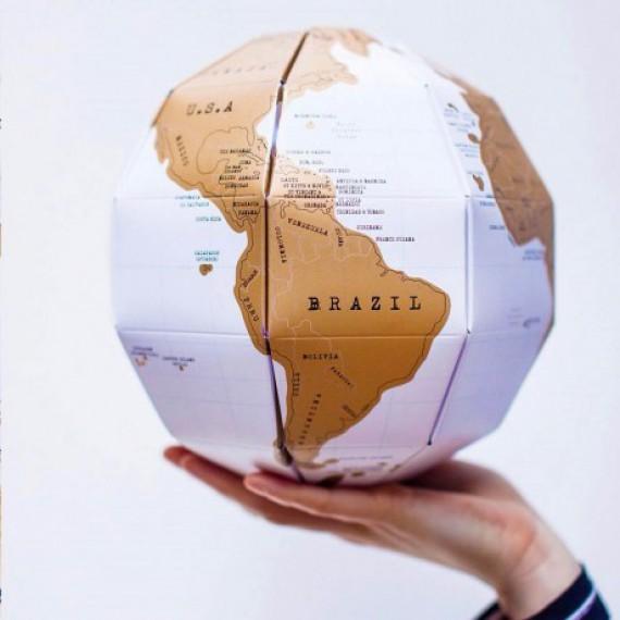 Globe à gratter