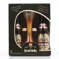 Coffret Kwak 4 bouteilles + verre
