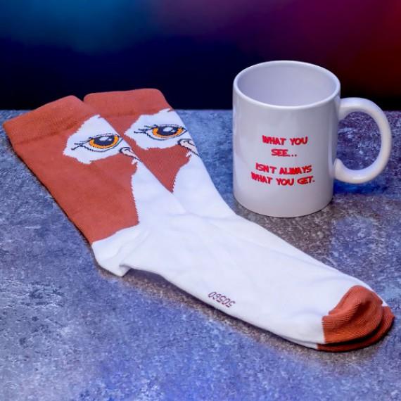 Coffret mug + chaussettes Gremlins