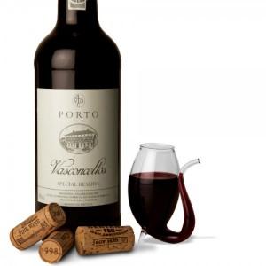 Le verre à vin original avec réservoir