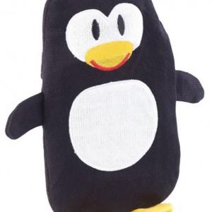 Housse Pingouin pour bouillotte 1 L