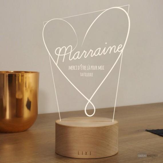 Lampe Illusion - Marraine