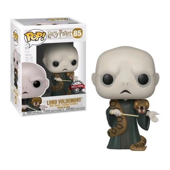 Figurine POP Harry Potter Lord Voldemort with Nagini Exclusive